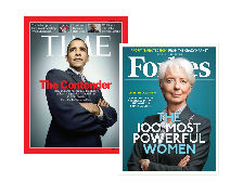 TIME + Forbes