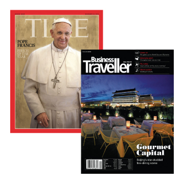 TIME一年期 + BusinessTraveller(英文版)一年期