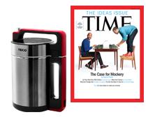 TIME40期+TECO微壓養生豆漿機