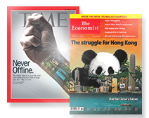 TIME + The Economist