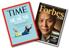 TIME40期+Forbes14期