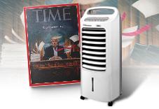 《TIME》40期+Thomson 微電腦水冷箱扇(贈品)