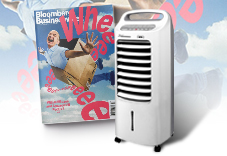 英文版《BBW》50期+Thomson 微電腦水冷箱扇(贈品)