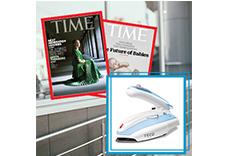 TIME54期+TECO旅行/家庭兩用蒸汽電熨斗(贈品)