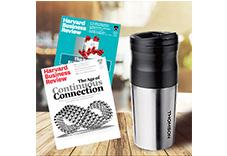 哈佛商業評論12期+Thomson 電動研磨咖啡隨行杯(贈品)