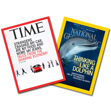 TIME36期+《National Geographic》12期+送精選《NG》3期